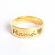anillo mama oro