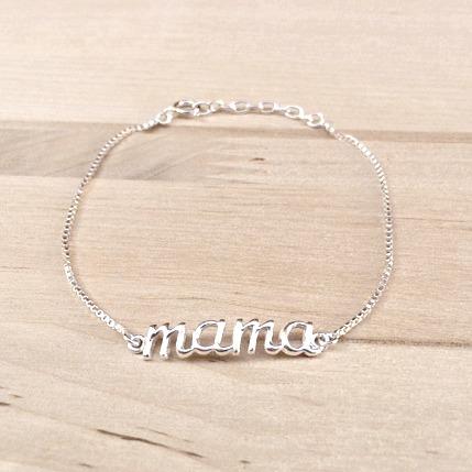 pulsera mamá cadena