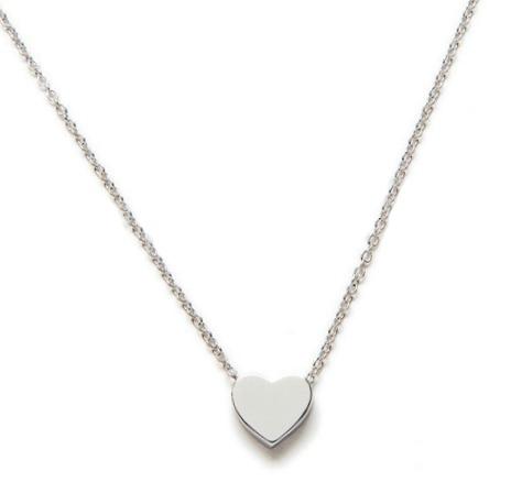 bc74914686ad Collar Corazón Plata - Bellota Colorá