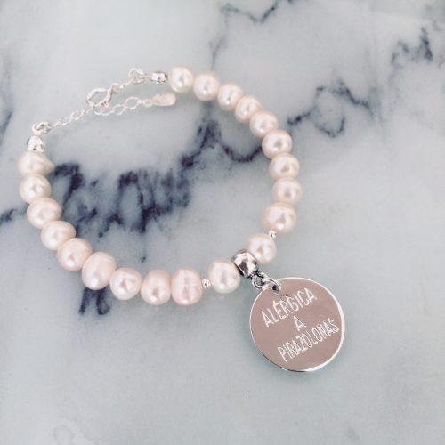 pulseras personalizadas perlas