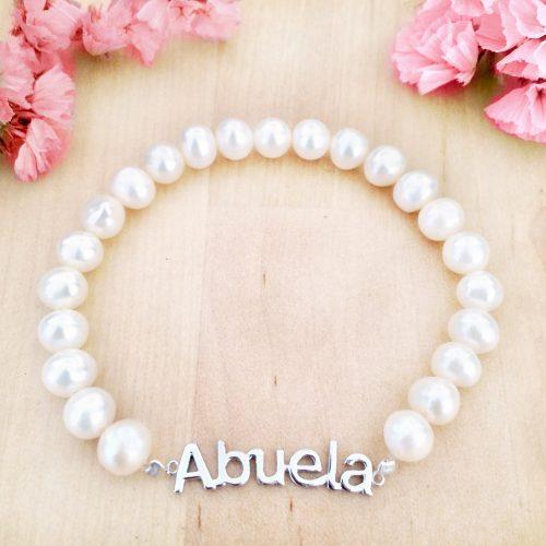 pulsera perlas abuela